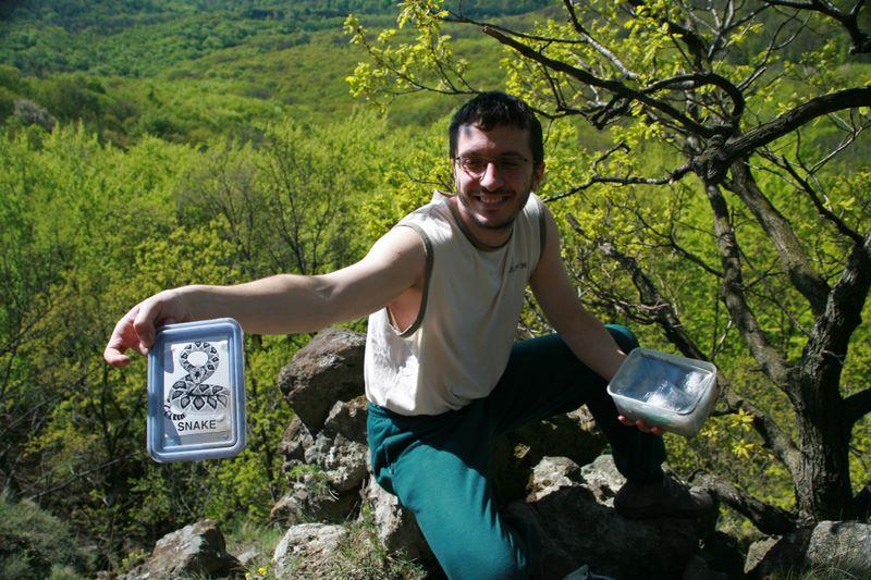 Geocaching Visegrád, 2008. április 19.