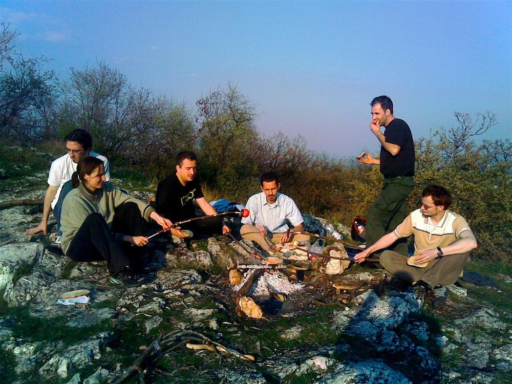 Geocaching Csobánka, 2007. április 1.